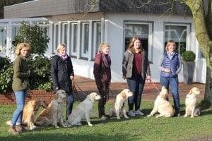 v.l. Abby, Maja, Holly, Balin, Annie, Lucy